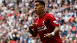 Liverpool's Firmino better but still doubt for PSG clash