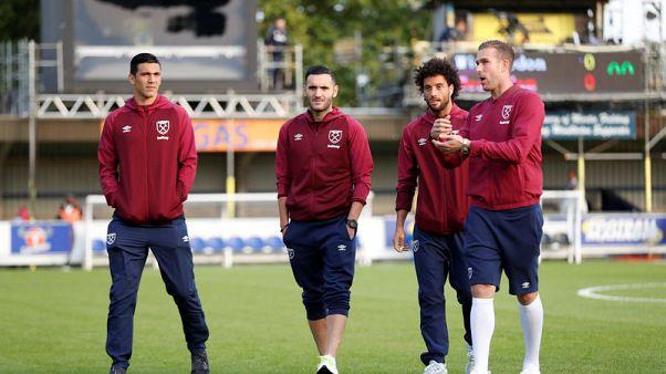 West Ham's Perez denies refusing to play at Everton