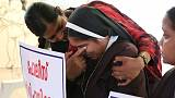 Indian bishop accused of raping nun steps aside as arrest calls grow