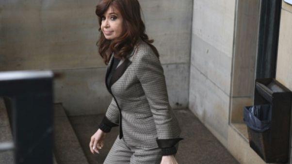 Argentine: l'ex-présidente Kirchner, cerveau présumé d'un vaste système de corruption