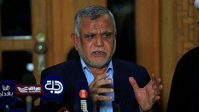 Iraq Shi'ite paramilitary leader al-Amiri withdraws candidacy for PM