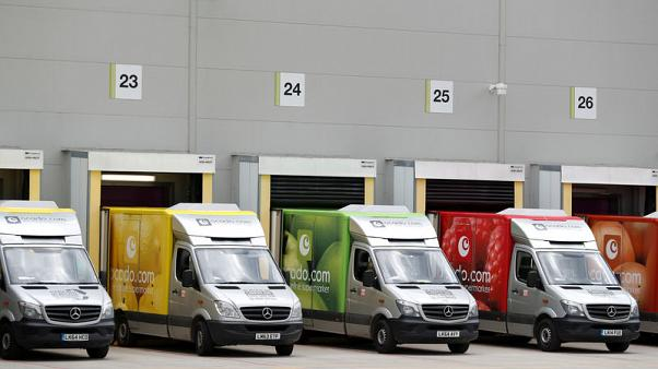 Ocado quarterly sales growth slightly lower, in line with full year guidance