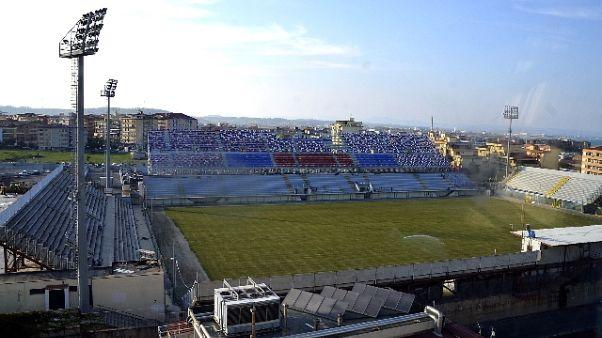Tar, stadio Crotone è utilizzabile