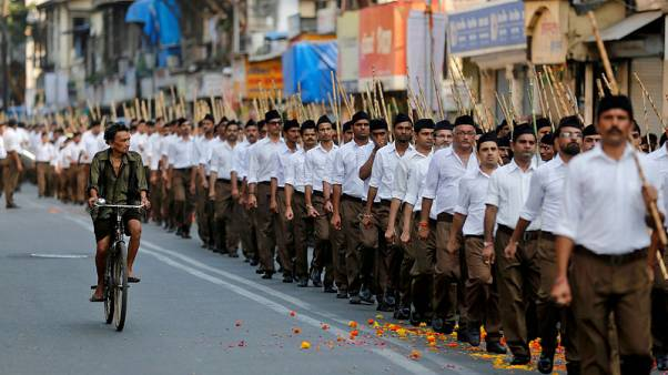 Hindu group behind Modi's rise in India opens up as elections near