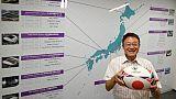 """Mondial de rugby, J-365: le """"John Travolta japonais"""" qui a amené la Coupe du monde en Asie"""