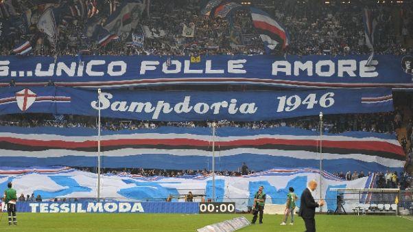 Treno Samp per gara contro la Fiorentina