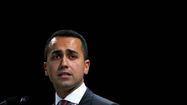 Italy's Di Maio denies he threatened to oust economy minister