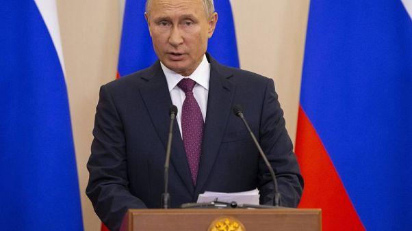 بوتين: عمليات سلاح الجو الإسرائيلي تنتهك سيادة سوريا