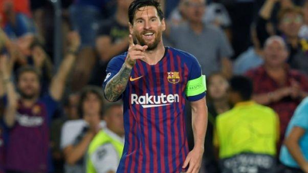 C1: triplé de Messi, le Barça sur la bonne voie