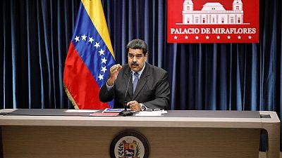 Venezuela's Maduro says ex-military officers conspiring with U.S. help