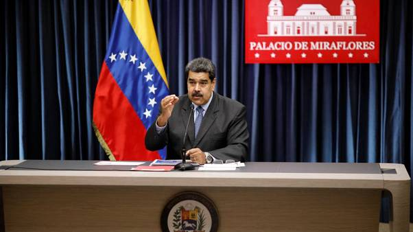 Venezuela's Maduro says ex-military officers conspiring with U.S. help