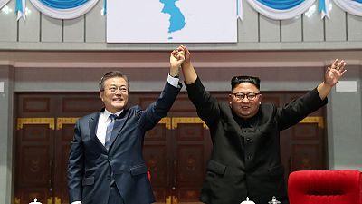 Trump enthusiastic at North Korea missile pledge, others doubtful