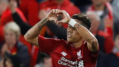Late Firmino strike gives Liverpool 3-2 win over PSG