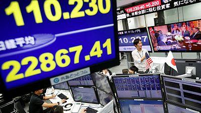Stocks, U.S. bond yields rise as trade row fails to dent confidence