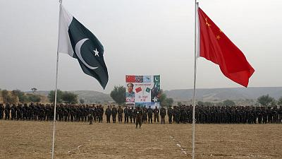 China says military ties 'backbone' to relations with Pakistan