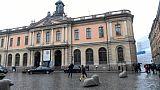 Le siège de l'Académie suédoise à Stockholm, le 3 mai 2018.