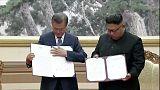 سول: الكوريتان توقعان على بيان مشترك بعد القمة