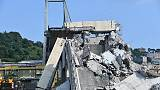 Crollo ponte, Cesi sospende dirigenti