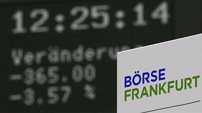 European shares hit two-week high on trade talk hopes; miners, autos up
