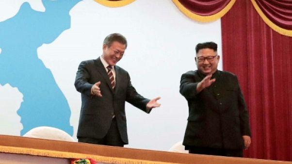 Cinq éléments clés décidés au sommet intercoréen de Pyongyang