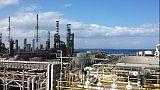 Incendio alla raffineria Saras