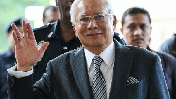 L'ex-Premier ministre malaisien Najib Razak à Kuala Lumpur, le 10 août 2018
