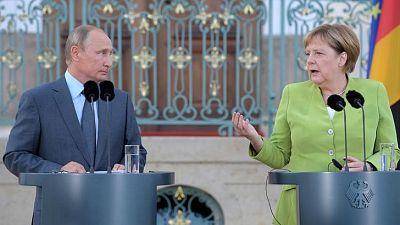 Russia's Putin, Germany's Merkel discuss Syria, Ukraine: Kremlin