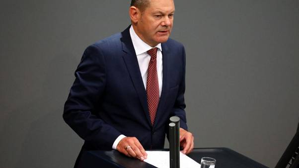 Euro zone should take next steps to complete banking union - Germany's Scholz