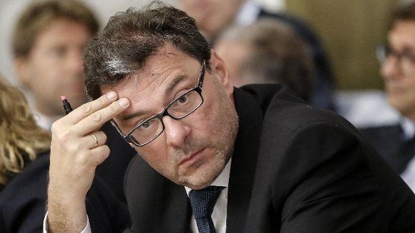 Giorgetti, se proposte serie si sfora 2%