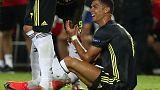 Juve's Ronaldo sent off against Valencia