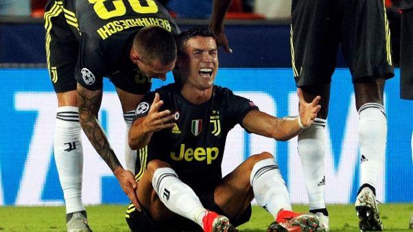 Champions: Bonucci,CR7?Normale contrasto
