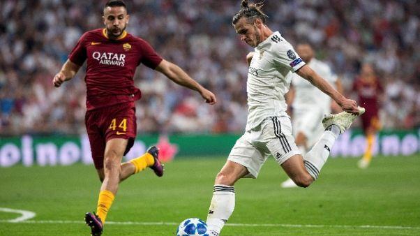 Champions: Real Madrid-Roma 3-0
