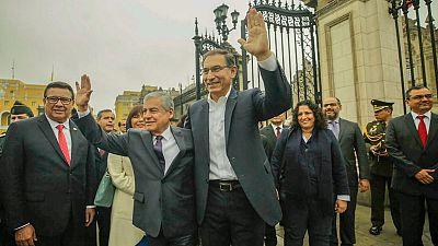 Peru's Congress renews confidence in Vizcarra's cabinet
