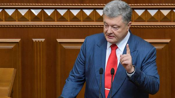 Ukraine president sees risk of Russia sanctions softening