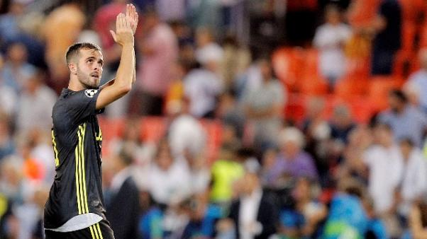 Juve:Pjanic, splendido inizio Champions