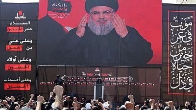 Hezbollah leader says has rockets despite Israeli efforts in Syria