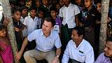 Hunt says pressed Suu Kyi on 'justice and accountability' for Rohingya