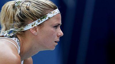 Giorgi upstages defending champion Wozniacki in Tokyo