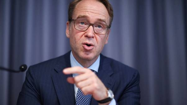 Countering Draghi, ECB's Weidmann says too soon for financial risk-sharing