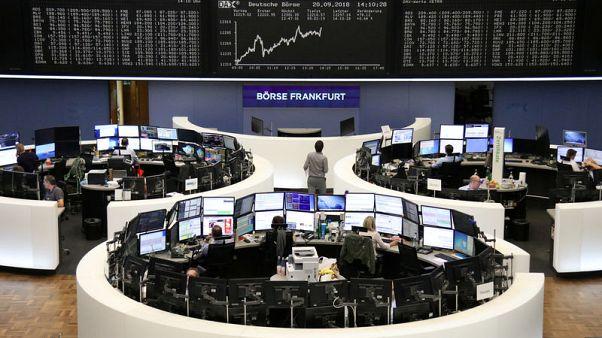 الأسهم الأوروبية ترتفع مع انحسار المخاوف من حرب تجارية