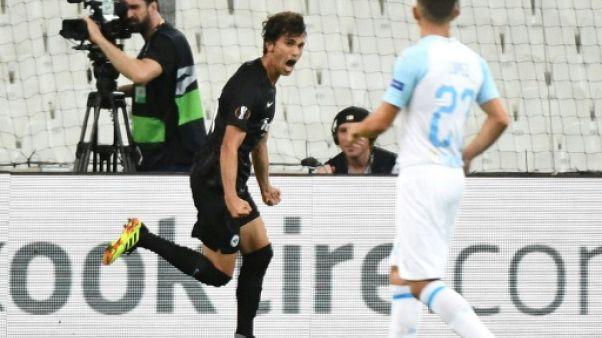 Ligue Europa: Marseille battu 2-1 par Francfort dans son Vélodrome vide
