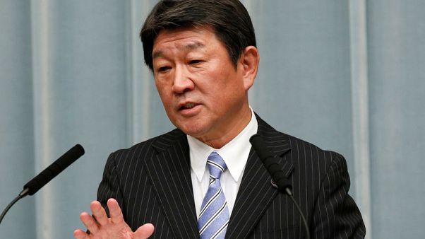 Japan, U.S. to hold second round of trade talks Sept 24 -Motegi
