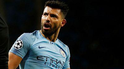 Aguero extends Man City contract to 2021