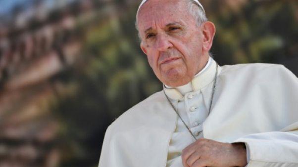 Le pape François, le 15 septembre 2018 à Palerme, en Sicile