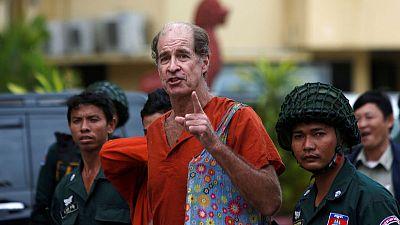 Cambodia pardons Australian filmmaker jailed for espionage
