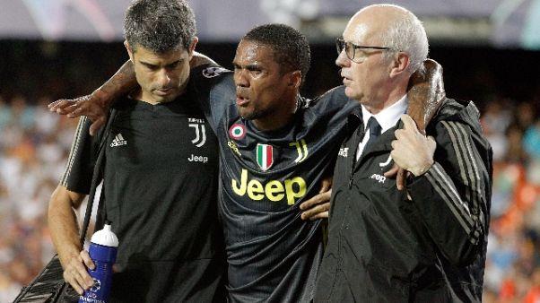 Juventus: doppio infortunio per D.Costa
