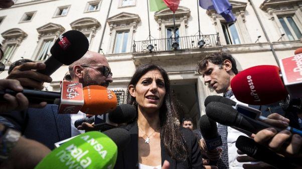 Roma: Raggi, c'è ok per poteri speciali