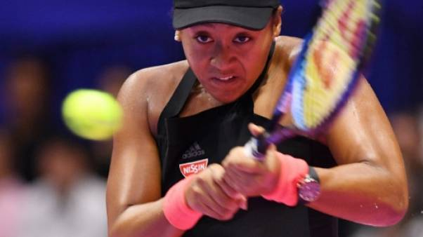 Naomi Osaka was barely troubled on her way to her way to the Tokyo semis