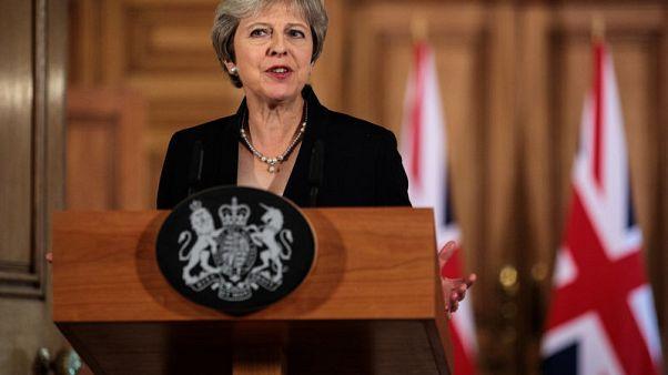May says Brexit talks have hit impasse, EU must produce alternative plans