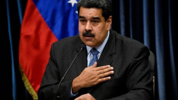 Le président du Venezuela Nicolas Maduro, le 18 septembre 2018 à Caracas
